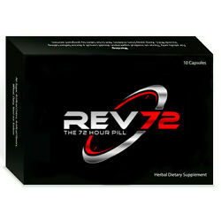 Rev72 - 72 Hour Powerful 72hr Natural Male Stimulant That Performs