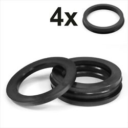 Set 4x Spigot Rings 1300-1200 Alloy Wheel Hub Centric Spacer 130.0 To 120.0 Mm
