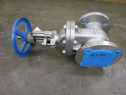 Oic S151 3 Stainless S/s 4 Bolt Flange Gate Valve 150 Lbs Cf8m Body F316 Trim