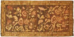 Vintage Bessarabian Kilim Oriental Rug Gallery Size 11and0390 X 5and0396 W/ Free Shipping