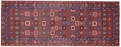 Antique Traditional Decorative Oriental Rug, In Runner Size, W/ Free Shipping