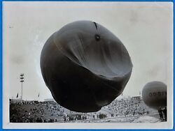 3 Vintage Photo Swiss Pr Piccard And Cosyns Atmosphere Balloon Fly Belgium 1932