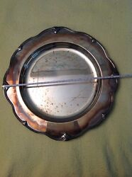 Vintage Silvertray Wm. Rogers And Son Silverplate 15 Spring Flower 2072 Shel