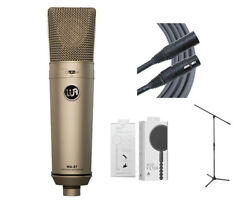 Warm Audio WA97 FET Condenser Microphone + Mogami Cable + Mic Stand + Pop Filter