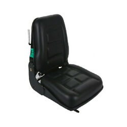 Forklift Seat Adjustable With Suspension - Bobcat Tractor Chair
