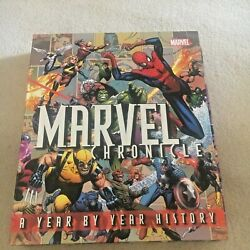 MARVEL CHRONICLE. YEAR BY YEAR. HARDCOVER IN CASE. 9781405332637