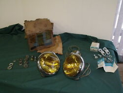 Nos 1949 1950 1951 1952 Ford Pickup Road Lamps Oem F-100