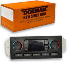 Dorman Front HVAC Control Module for Chevy Silverado 1500 HD Classic 2007 - tq