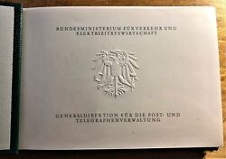 Austria Posts Gift For Upu Delegates With Stamps + Renner Sheet Into The 1960's