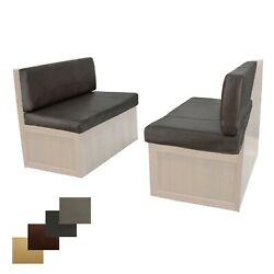 Rv 44 Chestnut Memory Foam Dinette Seat Cushions 2 Pack Mobile Home Dining