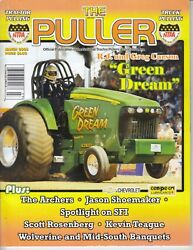 Ntpa The Puller March. 2008 Magazine - Monster Tractor Pulling - John Deere