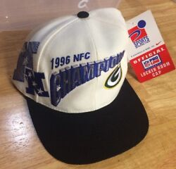 1996 Nfc Champions Green Bay Packers Pro Line Hat New With Tags Baseball Cap