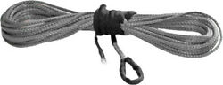 Kfi Products Rope Kit 1/4 X50 4000-5000 Wide Smoke Syn25-s50