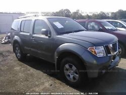 Automatic Transmission 6 Cylinder Crew Cab 4wd Fits 05 Frontier 1124327