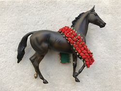 Retired Breyer Thoroughbred Racehorse #474 Seattle Slew Lonesome Glory Roses
