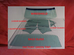 1964 1965 Chevelle Malibu 2Dr SedanPost Glass Windshield Vent Door Quarter Back
