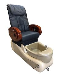 New Sb309 Pedicure Spa Chair For Nail Salon / Clearance In Stock Black Cover