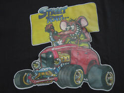 Never Worn 1979 Vtg The Rats Hole Big Daddy Hot Rod T Shirt Street 50/50 Large