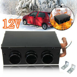 Portable Winter Defroster Auto Heating Car Heater 3 Holes Windscreen Demister