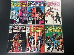 Kitty Pryde And Wolverine 1-6 Full Set 1984