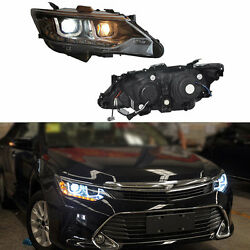 For Toyota Camary 2012-2014 Composite Assembly Headlight Glass Lens HID Lamp