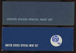 1966 + 1967 Us Special Mint Sets - Sms With Free Shipping