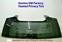 NEW 15-18 OEM FACTORY TAHOE SUBURBAN YUKON ESCALADE PRIVACY BACK GLASS OEM