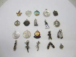Sterling Silver 925 Hobbies/travel/object/animals Charms Pick Your Charm