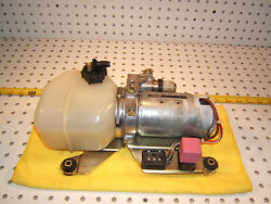 Mercedes Early R129 SL Soft top DOWN up hydraulic Fluid BOSCH Complete MB 1 Pump