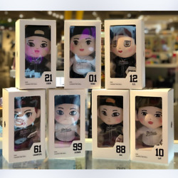 Sm Entertainment Official Merchandise [ Exo ] Standing Plush Doll + Dolls Hoodie