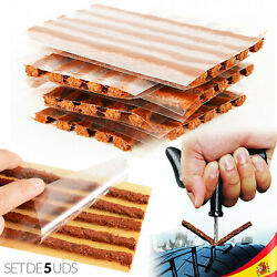 5x Strips Of Repair Of Punctures For Tyres No Camera Tubeless Car