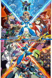 Rgc Huge Poster - Mega Man Anniversary Collection 1 2 Poster Ps4 Switch - Nvg266