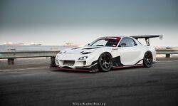 TCP Magic FD3S RX7 Carbon RACE Time Attack Widebody Kit