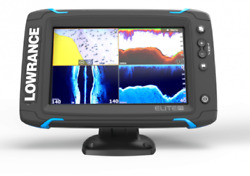 Lowrance Elite-7 Ti2 7and039 Touch Screen Gps Combo With 3 In 1 Imaging Transducer