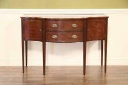High-end Antique Reproduction Small Hepplewhite Sideboard