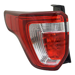 New Premium Fit Driver Side Tail Light Assembly FB5Z13405A NSF