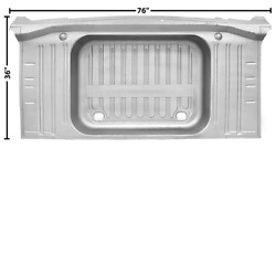 Chevychevrolet Impala Trunk Floor With Pan No Drop Offs 1962
