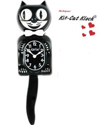 Classic Kit Kat Clock -full Size - 15.5- Made In The Usa - Fs Same Day