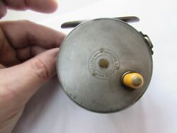Rare Vintage Early Hardy Alnwick Alloy Perfect Trout Fly Fishing Reel 3 + 1/8th