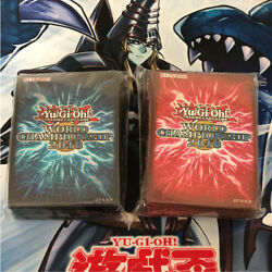 Yu-Gi-Oh! World Champion Ship 2018 Limited Sleeve Color RED BLUE WCS2018 C04