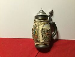 Beer Stein made in West Germany stands 7in. High by Ebony Bay