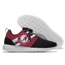 Alabama Crimson Tide Menand039s Womenand039s Lightweight Shoes Sneakers Football Team New
