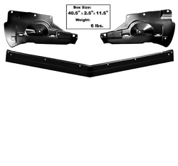 Chevy Chevrolet Impala Lower Grille 3 Piece Set 661966