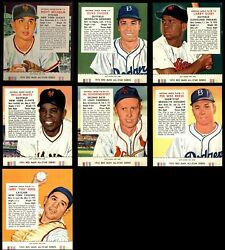 Red Man Tobacco  1955 Red Man Baseball Partial Complete Set EX