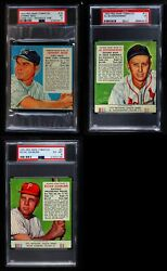 Red Man Tobacco  1953 Red Man Partial Complete Set VGEX