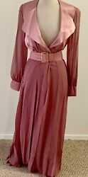 Vintage 1980's James Galanos Gown - A Rare DressGown in Pristine Condition