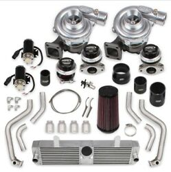 STS Turbo STS2001 STS 2005-07 Corvette C6 Turbo Rear Mounted Twin Turbo System
