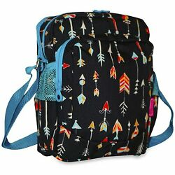Arrow Crossbody Bag Cross Body Purse Handbag Messenger Small Fabric Hippie $19.99