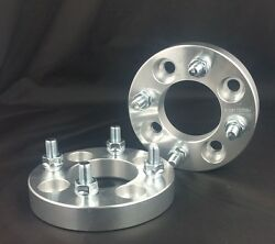 2 Pcs Wheel Spacers | 4X108 To 4X108 ( 4X4.25 ) | 12X1.5 | 25MM For Ford Mercury
