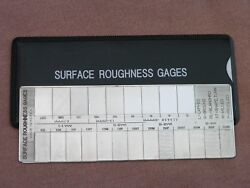 Surface Roughness Comparator Gage Brand New